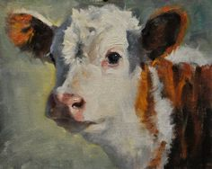 calf head finished ~ A Dynamic Animal Portrait Oil Painting Demo by Phil Beck Cow Art, Animal Art, Painting Demo, Oil Painting On Canvas, Art, Popular Art, Canvas Art, Canvas Painting, Oil Painting Demos