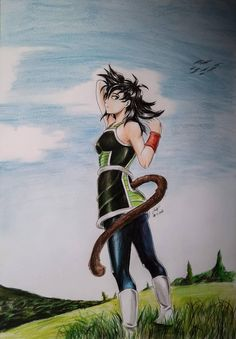 What do you want to say Bardock? by Yusaika on DeviantArt Gine Dbz, Db Z, Female Dragon, Manga Art, Dragon Ball Z, Pokemon, Nerd, Geek Stuff, Deviantart