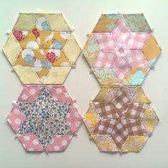 BIND - Stories Stitched in Quilts: Star Quilt Progress