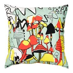 IKEA - SPRIDD, Cushion cover, Embroidery adds texture and lustre to the cushion.The zipper makes the cover easy to remove. Cushions Ikea, When I Grow Up, Affordable Furniture, Home Furnishings, Throw Pillows, Texture, Embroidery, How To Make, Inspiration