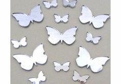 Super Cool Creations 14 Butterfly Mirror - 3 Sizes - one 12cm, five 4cm, eight 2cm Bundle offers of Butterfly Mirrors great value options (Barcode EAN = 5052842092113). http://www.comparestoreprices.co.uk/bathroom-mirrors/super-cool-creations-14-butterfly-mirror--3-sizes--one-12cm-five-4cm-eight-2cm.asp
