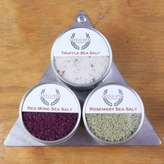 Gourmet Sea Salt Set - Featured Goods | Uncovet