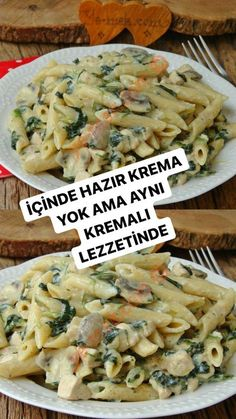 Turkish Recipes, Food Dishes, Pasta Recipes, Macaroni, Great Recipes, Food To Make, Food And Drink, Tasty, Salad