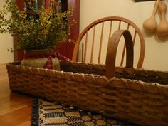 Hey, I found this really awesome Etsy listing at https://www.etsy.com/listing/156236738/primitive-handwoven-long-skinny-basket