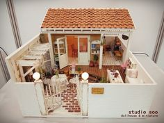 dollhouse patio