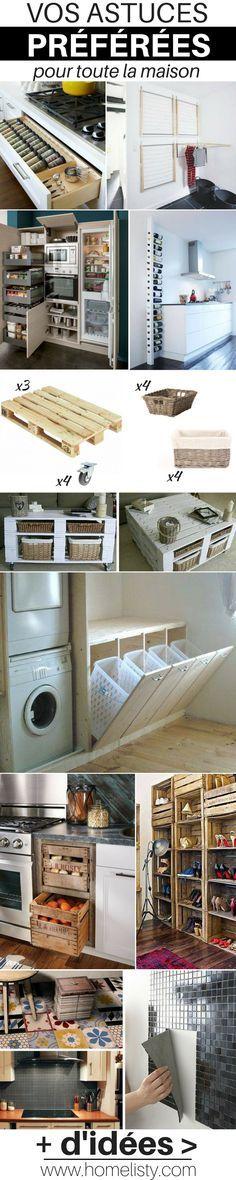 Les Idées Préférées des Internautes Pour la Maison !  http://www.homelisty.com