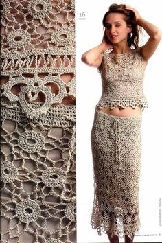 ~ Crochet Style ~: - Conjunto -
