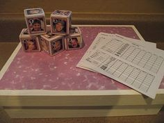 Personalized Yahtzee! Family Game Night! Grandparent Gift! The kids would love this!