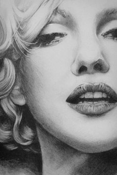 Marilyn Monroe by ~Shanuke on deviantART || This image first pinned to Marilyn Monroe Art board, here: http://pinterest.com/fairbanksgrafix/marilyn-monroe-art/ || #Art #MarilynMonroe