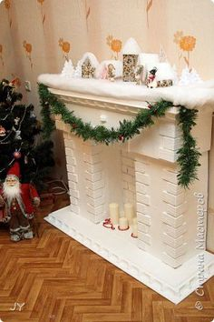 1 million+ Stunning Free Images to Use Anywhere Snowman Christmas Decorations, Diy Christmas Gifts, Christmas Home, Christmas Wreaths, Diy Christmas Fireplace, Diy Fireplace, Natal Diy, Cardboard Fireplace, New Years Decorations