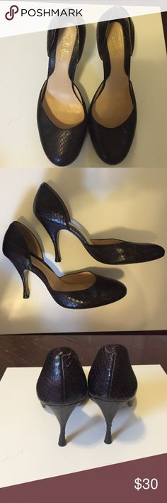 Cole Haan heels size 6 Almost like new. Leather on heels slightly scuffed. Cole Haan Shoes Heels