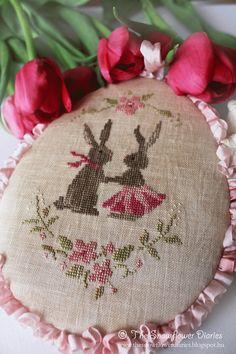 Spring Bunny Love Free Pattern