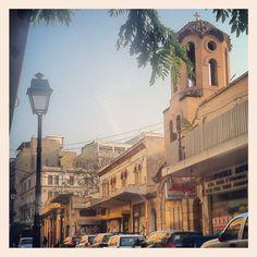 The entrance of Agios Minas church. Commercial Street, Thessaloniki, Uber, Entrance, Greece, Walking, Building, Travel, Instagram
