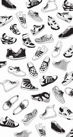 Hand-painted shoes background PNG and Clipart Sneakers Wallpaper, Shoes Wallpaper, Screen Wallpaper, Drawing Reference Poses, Art Reference, Shoes Clipart, Wall Paper Phone, Sneaker Art, Hand Painted Shoes