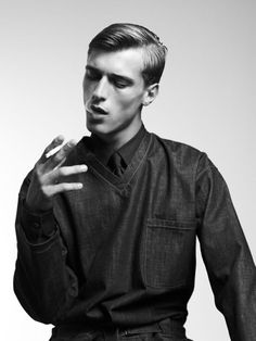 Clement Chabernaud by Willy Vanderperre