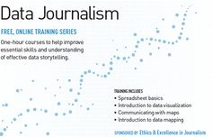 Data visualization basic training; from spreadsheet to data mapping. kdmcBerkeley is offering four free online training courses in data journalism. You'll learn basic data visualization skills, from spreadsheets to data mapping.
