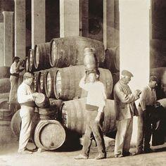 Los generosos: El PALO CORTADO, el vino de leyenda. Vintage Wine, Old Pictures, Around The Worlds, History, Couple Photos, Illustration, Portugal, Painting, Maps