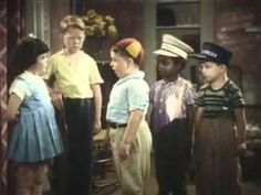 Male and Female- The Little Rascals