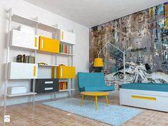 Pokój nastolatka. Regał z serii Color Box. - zdjęcie od Colorato - Pokój dziecka - Styl Nowoczesny - Colorato