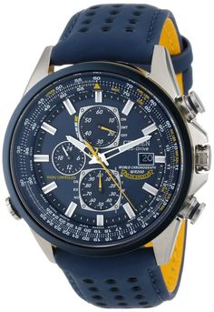Authorized Retailer- Citizen Blue Angels Quartz Navy Dial Men's Analog Watch CZ AT8020-03L