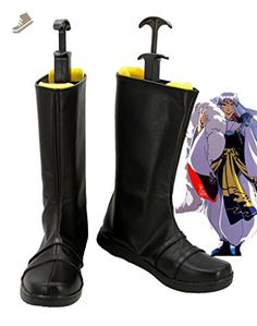 f684830ee1 Inuyasha Anime Sesshoumaru Cosplay Shoes Boots Custom Made - Telacos  sneakers for women ( Amazon
