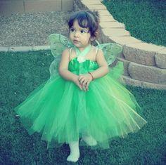 The Original Tinkerbell Costume -  High Quality Tutu Dress Newborn to 5T by Cruzcreation on Etsy https://www.etsy.com/listing/59659025/the-original-tinkerbell-costume-high