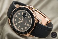 Hands-On – Rolex Yachtmaster Ref. 116655 Everose And Its Oysterflex Bracelet