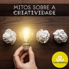 Você sabia que a criatividade não é algo que nasce com a gente? Ela é uma habilidade que pode ser estimulada e ensinada, independente da idade. Outro mito é de que criatividade é restrita a algumas áreas, ela é necessária para todas as áreas e setores, pois todos os profissionais devem encontrar diariamente ideias para lidar com adversidades! #Criatividade #Mitos #SerCriativo #TudoMKT #TudoMarketing