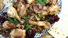 Pomegranate Chicken Dish - Khokhop - Heghineh Cooking Show - YouTube
