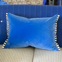 Varese Marine Pillow design by Designers Guild | BURKE DECOR $130