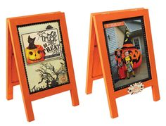 Trick or Treat Easel - Click through for project instructions.