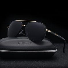 Buy OLEY Brand Sunglasses Men Polarized Fashion Classic Pilot Sun Glasses Fishing Driving Goggles Shades For Men/Wome Sunglasses Price, Gold Sunglasses, Polarized Sunglasses, Cool Mens Sunglasses, Celebrity Sunglasses, Luxury Sunglasses, Sunnies, Men's Accessories, Sunglasses Accessories