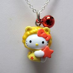 ... hello hello kitty 3 zodiac hello jewelry hk kitty necklaces forward