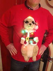 Christmas is coming Kapu Weihnachten X Mas Weihnachtsmann Santa Claus Baum Fun