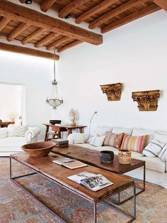 Lately I've been obsessed with browsing Ibiza interiors.and the colors are so warm, yet clean. Definitely adding Ibiza to my destination bucket list. Home Living Room, Living Room Decor, Living Spaces, Interior Design Inspiration, Home Decor Inspiration, Design Interior, Design Ideas, Inspiration Boards, Interior Paint