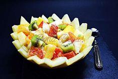 Salata de fructe Hawaiian Pizza, Fruit Salad, Gem, Food, Salads, Fruit Salads, Essen, Jewels, Meals
