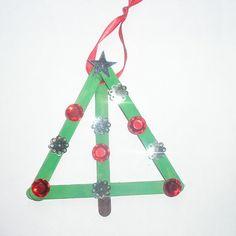 paper christmas tree craft   Christmas Tree Party