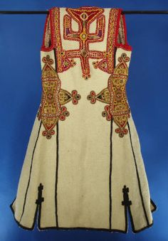 Woman's vest (back) from Albania