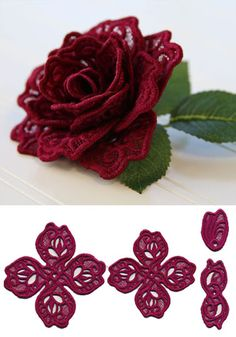 10 Machine Embroidery Designs CD 4inch FSL SPRINTIME DOILY FREE SHIPPING