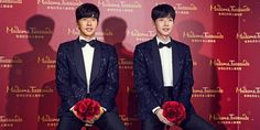 Actor Park Hae Jin visited Hong Kong this past March 13, to see his very own wax figure displayed at Madame Tussauds!  This year will mark the Hallyu gallery at Madame Tussauds' 2nd year, and Park Hae Jin is the 9th Korean celebrity to have his wax figure made for the famous museum.