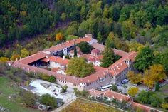 The Bachkovo Monastery, archaically the Petritsoni Monastery or Monastery of the Mother of God Petritzonitissa in Bulgaria is an important monument of Christian architecture and one of the largest and oldest Eastern Orthodox monasteries in Europe.