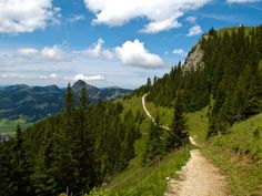 Tannheimer Berge...what a georgious walkway