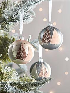 dsfeqwq 24 unids//Set Bola de Navidad /árbol Colgante Adorno de Juguete decoraci/ón del Partido en casa Azul