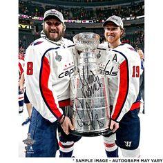 60b151060 Alex Ovechkin  amp  Nicklas Backstrom Washington Capitals Fanatics  Authentic 2018 Stanley Cup Champions Autographed 16