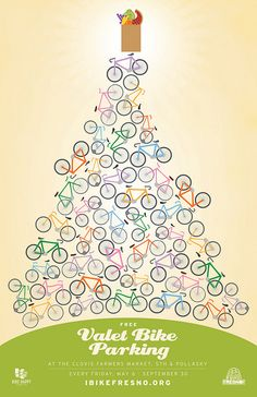 Bike Valet @ Clovis Farmers Market, via Flickr.