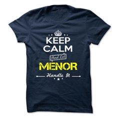 Awesome It's an MENOR thing, Custom MENOR  Hoodie T-Shirts Check more at http://designyourownsweatshirt.com/its-an-menor-thing-custom-menor-hoodie-t-shirts.html