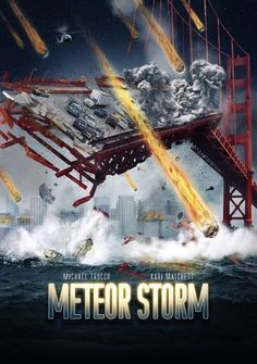 Available in: DVD.When the city of San Francisco gets pummeled by a violent meteor storm, astronomer Michelle Young (Kari Matchett) realizes that the human Movies 2019, Sci Fi Movies, Hd Movies, Movie Tv, 2012 Movie, Movie List, Action Movie Poster, Action Movies, Storm Movie