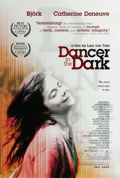 Directed by Lars von Trier.  With Björk, Catherine Deneuve, David Morse, Peter Stormare. An east European girl goes to America with her young son, expecting it to be like a Hollywood film.