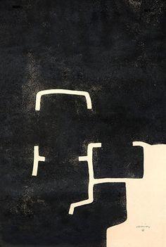 """Eduardo Chillida Aguafuerte sobre papel Japón """"Hildokatu II"""" 1982 99 x 65 cm. Tirada de 45 ejemplares Firmado y numerado a mano Koelen 82001 Enmarcado Precio: 7.000 euros  Web: www.grabadosylitografias.com Más información y consultas: galeria@grabadosylitografias.com"""
