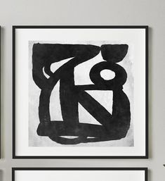 Abstract Art Print Set Set of 4 Black and White Art | Etsy Black And White Wall Art, Black And White Abstract, Large Wall Art, Large Art, Modern Art Prints, Graphic Prints, Wall Prints, Printable Art, Abstract Art